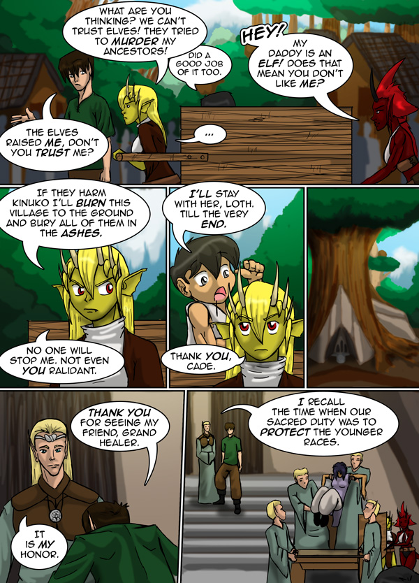 The Chronicles of Loth page 24 chapter 8