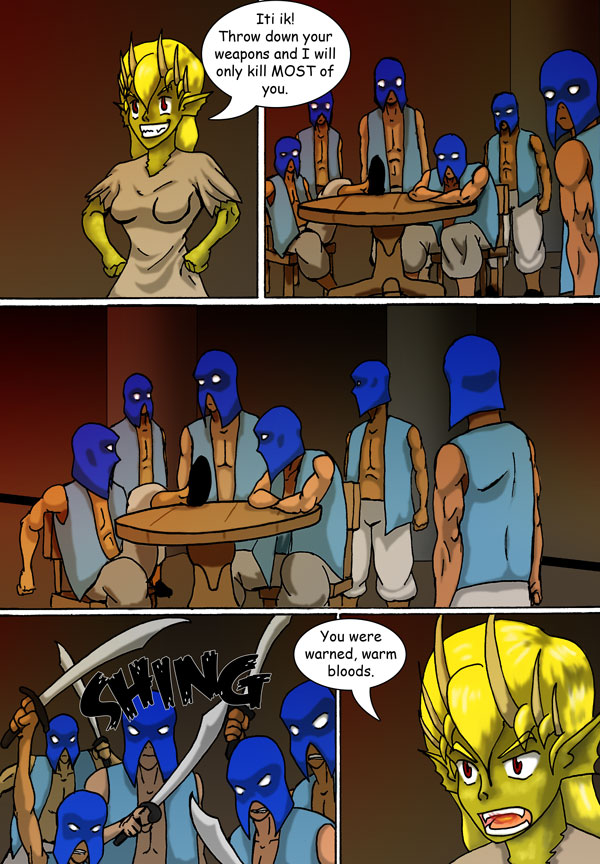 The Chronicles of Loth page 16 chapter 2