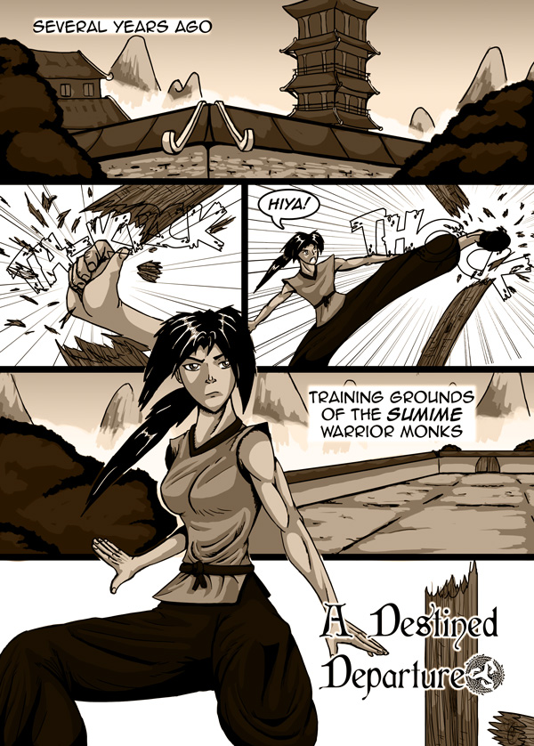 Destined Departure Pg1