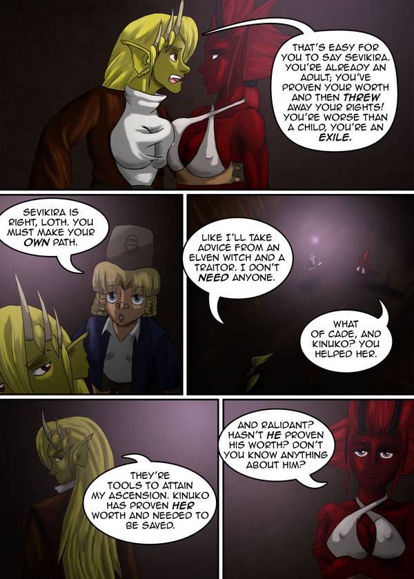 The Chronicles of Loth page 10 chapter 9