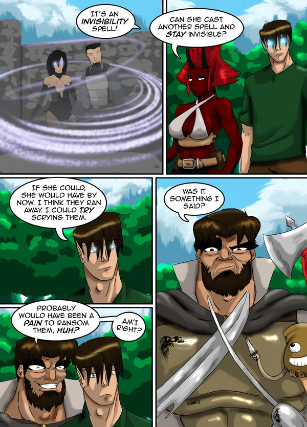 The Chronicles of Loth page 40 chapter 9