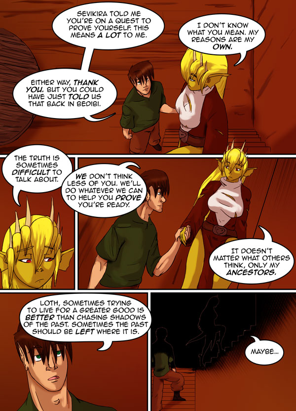 The Chronicles of Loth page 17 chapter 10