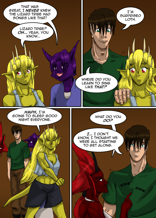 The Chronicles of Loth page 31 chapter 10