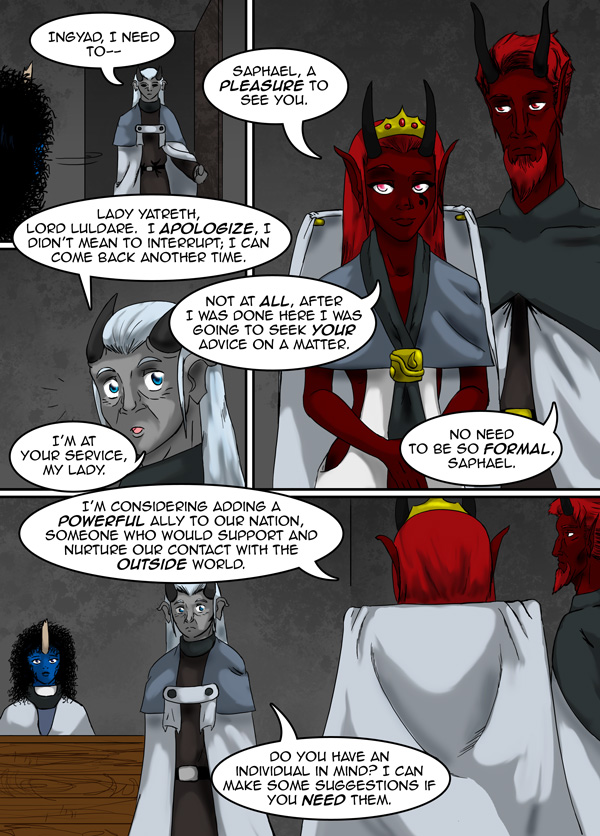 The Chronicles of Loth page 33 chapter 10