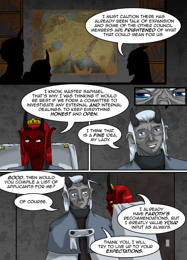 The Chronicles of Loth page 35 chapter 10