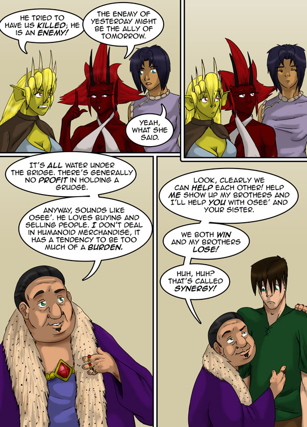 The Chronicles of Loth page 13 chapter 11