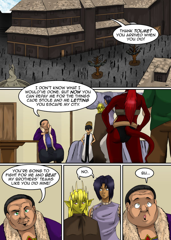 The Chronicles of Loth page 10 chapter 11