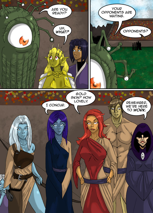 The Chronicles of Loth page 37 chapter 11