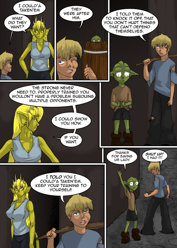 The Chronicles of Loth page 23 chapter 11