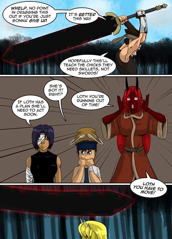 The Chronicles of Loth pg. 18 ch. 12