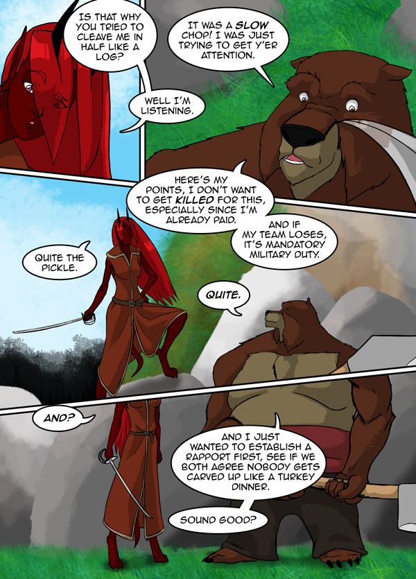 The Chronicles of Loth pg. 31 ch. 12