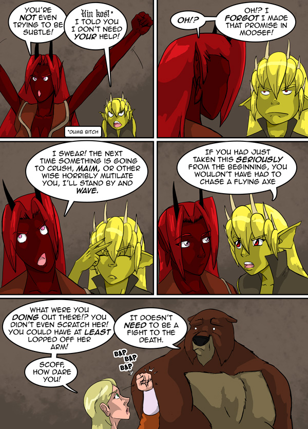 The Chronicles of Loth pg. 38 ch. 12