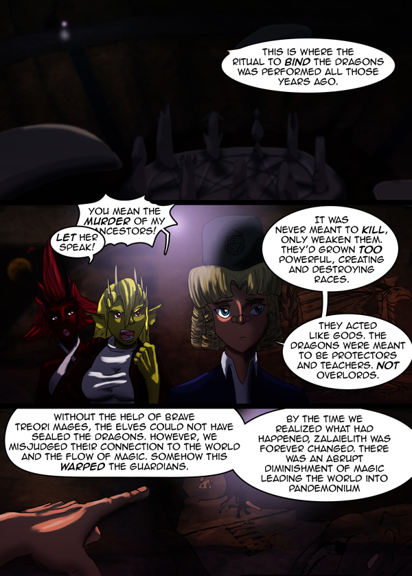 The Chronicles of Loth page 7 chapter 9