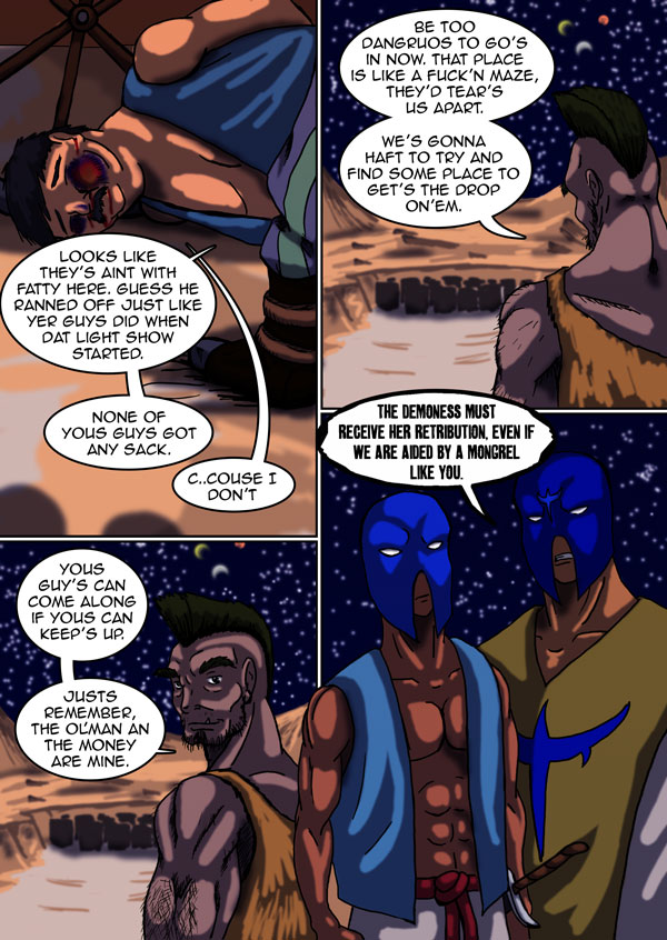 The Chronicles of Loth page 14 chapter 6