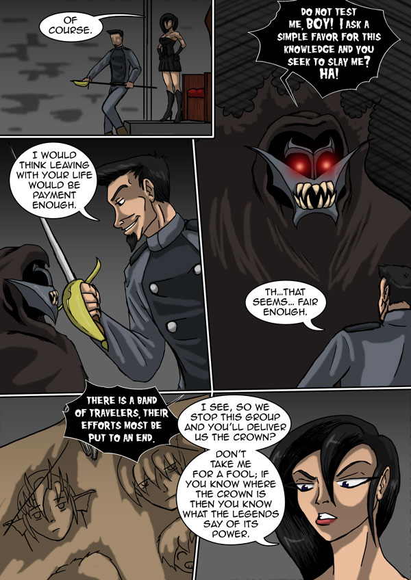 The Chronicles of Loth page 12 chapter 6