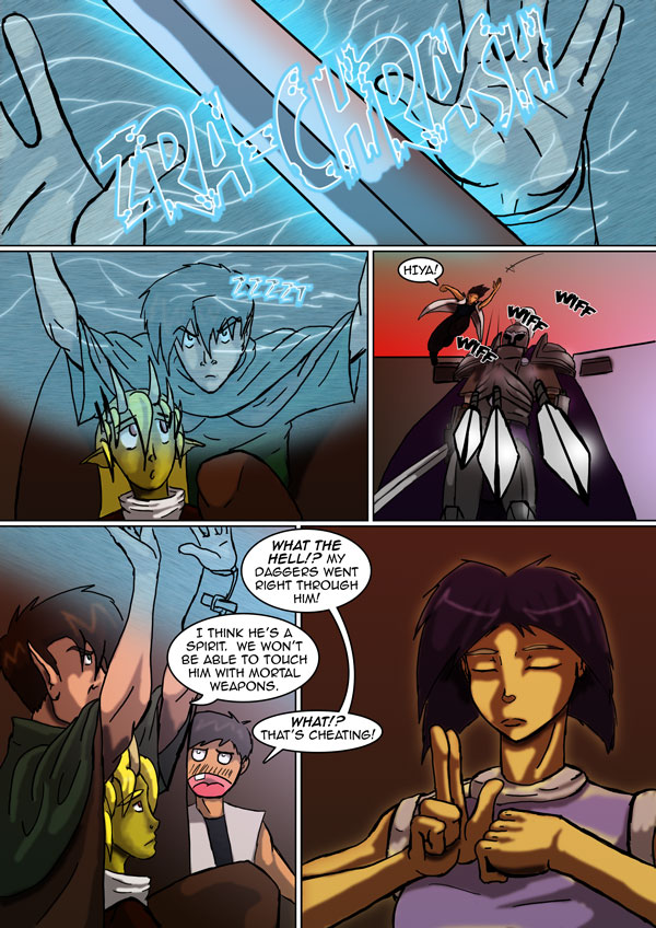 The Chronicles of Loth page 14 chapter 5