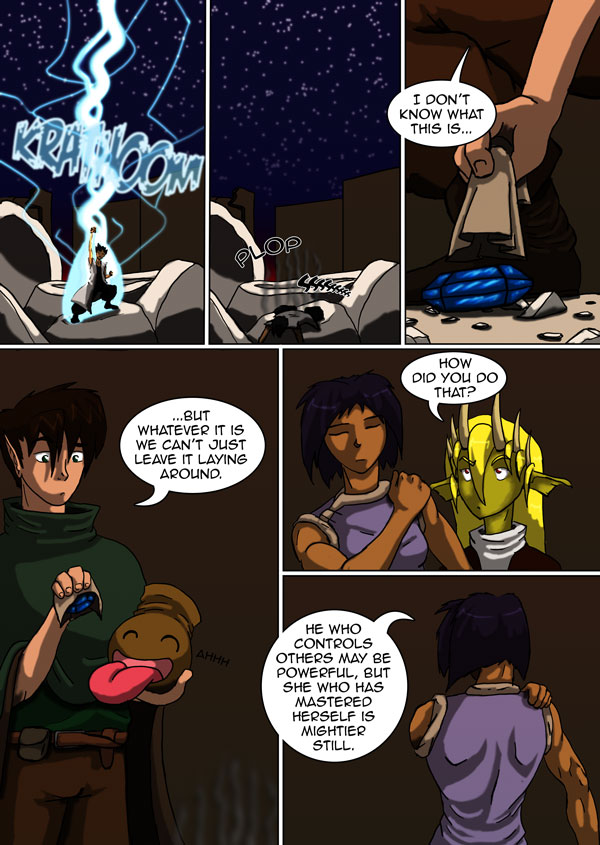 The Chronicles of Loth page 21 chapter 5